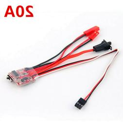 20A RC ESC Brush Motor Speed Controller with Brake For RC Ca